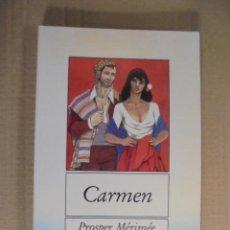 Libros: CARMEN - PROSPER MERIMEE - EN CATALÀ - BROMERA 1995 - DIBUIXOS ENRIC SOLBES -DIDACTIQUES . Lote 50367262