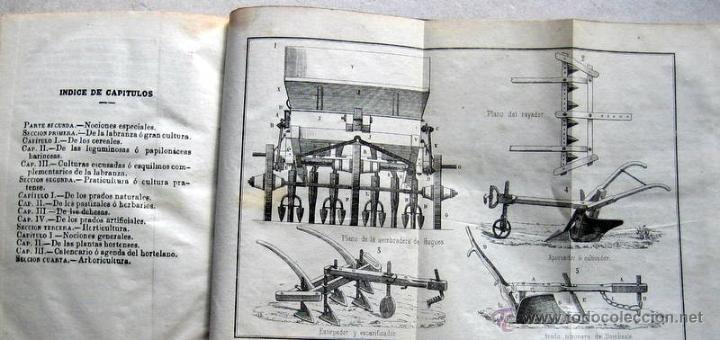 Libros: ELEMENTOS DE AGRICULTURA- VEGA Y ORTIZ -MADRID 1861 - Foto 2 - 54964197