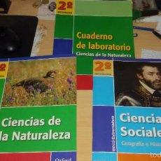 Libros: MONOGRÁFICOS EXTREMADURA Y CUADERNO DE LABORATORIO SECUNDARIA. Lote 55234400