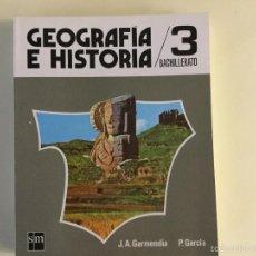 Libros: GEOGRAFÍA E HISTORIA 3*BUP. S.M.. Lote 165046965