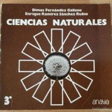 Livres: CIENCIAS NATURALES 3* BUP. ANAYA.. Lote 237448485