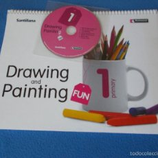 Libros: DRAWING AND PAINTING 1 - RICHMOND - SANTILLANA. Lote 60616963