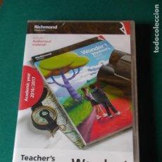 Libros: DVD DE INGLES DEL LIBRO WONDER 1 ( 1º DE PRIMARIA ) - RICHMOND -. Lote 62865324
