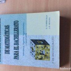 Libros: PROBLEMAS DE MATEMATICAS PARA EL BACHILLERATO. Lote 64291735
