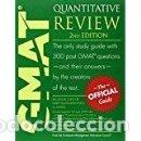 Libros: GMAT PRAPARACION MBA. Lote 71145265
