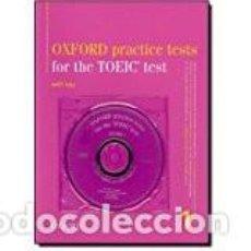 Libros: OXFORD PREPARACIÓN TOEIC MBA. Lote 71145721