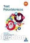 TEST PSICOTÉCNICOS EDITORIAL MAD, S.L. (Libros Nuevos - Libros de Texto - Infantil y Primaria)