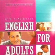 Libros: NEW ENGLISH FOR ADULT 2. Lote 83402323