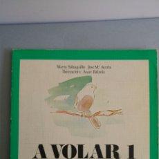 Libros: A VOLAR 1 LECTURAS EGB 1982 EDITORIAL CINCEL. Lote 85294136