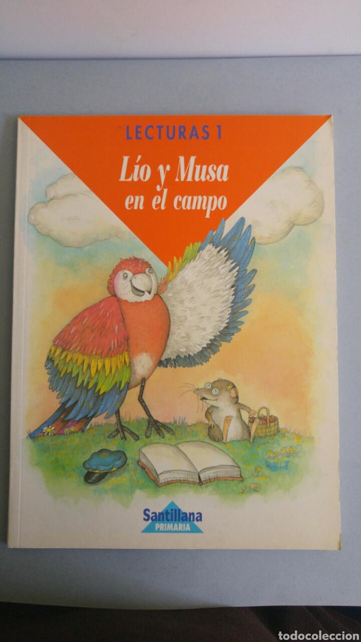 LECTURAS 1 LIO Y MUSA ESITORIAL SANTILLANA (Libros Nuevos - Libros de Texto - Infantil y Primaria)