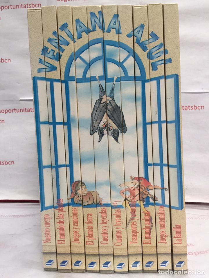 VENTANA AZUL ENCICLOPEDIA PREESCOLAR (Libros Nuevos - Libros de Texto - Infantil y Primaria)