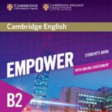 Libros: CAMBRIDGE ENGLISH EMPOWER FOR SPANISH SPEAKERS B2 STUDENT'S BOOK WITH ONLINE ASSESSMENT AND PRACTICE. Lote 70710361