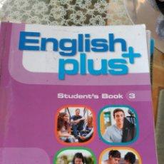 Libros: ENGLISH PLUS+ - OXFORD 3 ESO. Lote 92383562