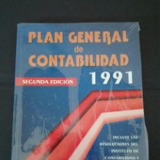 Libros: PLAN GENERAL DE CONTABILIDAD 1991 MC GRAW HILL. Lote 95887739