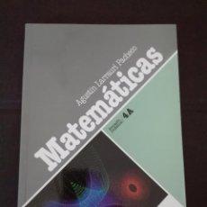 Libros: MATEMÁTICAS FORMACIÓN PROFESIONAL 4 A LARRAURI 1992 NUEVO. Lote 95888019