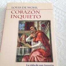 Libros: CORAZÒN INQUIETO. Lote 96777955