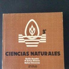 Libros: CIENCIAS NATURALES 3* BUP. ANAYA.. Lote 99428799
