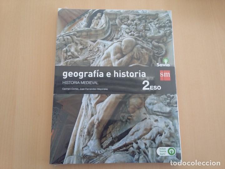 ISBN 9788467586657 GEOGRAFIA E HISTORIA 2ºESO (NUEVO SIN USAR)(PRECINTADO) (Libros Nuevos - Libros de Texto - ESO)
