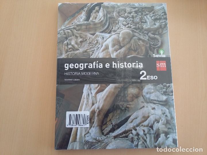 Libros: ISBN 9788467586657 GEOGRAFIA E HISTORIA 2ºESO (nuevo sin usar)(precintado) - Foto 2 - 101569303