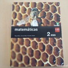 Libros: ISBN 9788467586787 MATEMATICAS 2ºESO. Lote 101569335