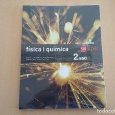 Libros: ISBN 9788467587418 FISICA I QUIMICA 2ºESO (NUEVO SIN USAR)(PRECINTADO). Lote 101569511