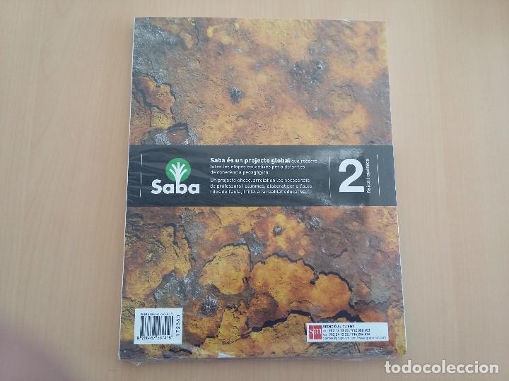 Libros: ISBN 9788467587418 FISICA I QUIMICA 2ºESO (nuevo sin usar)(precintado) - Foto 2 - 101569511