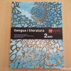 Libros: ISBN 9788467587449 LLENGUA I LITERATURA 2ºESO (NUEVO SIN USAR). Lote 174165720