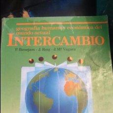 Libros: LIBRO INTERCAMBIO 2 BUP EGB COLEGIO. USADO. Lote 102705739