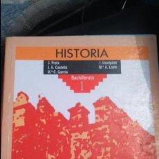 Libros: ANTIGUO LIBRO DE TEXTO 1 BACHILLERATO HISTORIA. Lote 102706723
