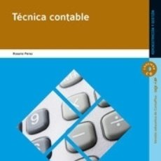 Libros: TÉCNICA CONTABLE EDITORIAL EDITEX. Lote 104157736