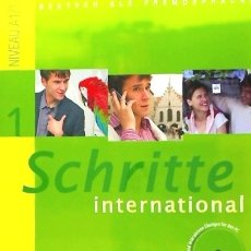 Libros: SCHRITTE INTERNATIONAL 1 KB+AB+CD EDITORIAL HUEBER. Lote 104160280