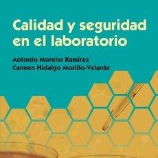 Libros: CALIDAD Y SEGURIDAD EN EL LABORATORIO EDITORIAL SÍNTESIS, S.A.. Lote 105592804