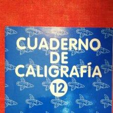 Libros: CUADERNO DE CALIGRAFÍA 12 EDITORIAL ANAYA-2000. Lote 105945243