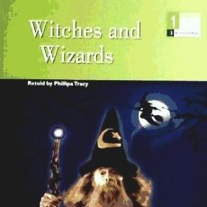Libros: WITCHES AND WIZARDS 1§ESO BAR BURLINGTON BOOKS. Lote 105976308