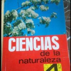 Libros: CIENCIAS DE LA NATURALEZA 4 BACHILLERATO. Lote 108066219