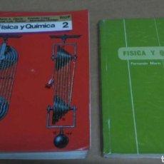 Libros: LIBROS FÍSICA Y QUÍMICA 2 BUP. Lote 108254422