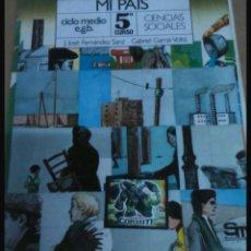 Libros: LIBRO SOCIALES 5 EGB. Lote 108321758