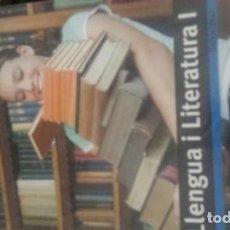 Libros: LLENGUA I LITERATURA I - 1BATX. Lote 113042655