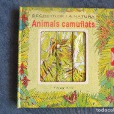 Libros: POP-UP SECRETS DE LA NATURA ANIMALS CAMUFLATS. Lote 114889935