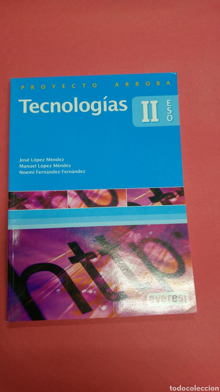 TECNOLOGIAS II ED EVEREST. NUEVO A ESTRENAR (Libros Nuevos - Libros de Texto - ESO)