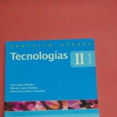 Libros: TECNOLOGIAS II ED EVEREST. NUEVO A ESTRENAR. Lote 116678151
