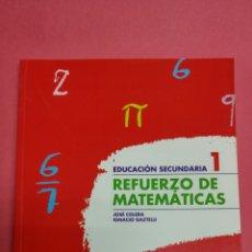 Libros: REFUERZO MATEMÁTICAS 1 ESO ANAYA. NUEVO A ESTRENAR. Lote 116679760