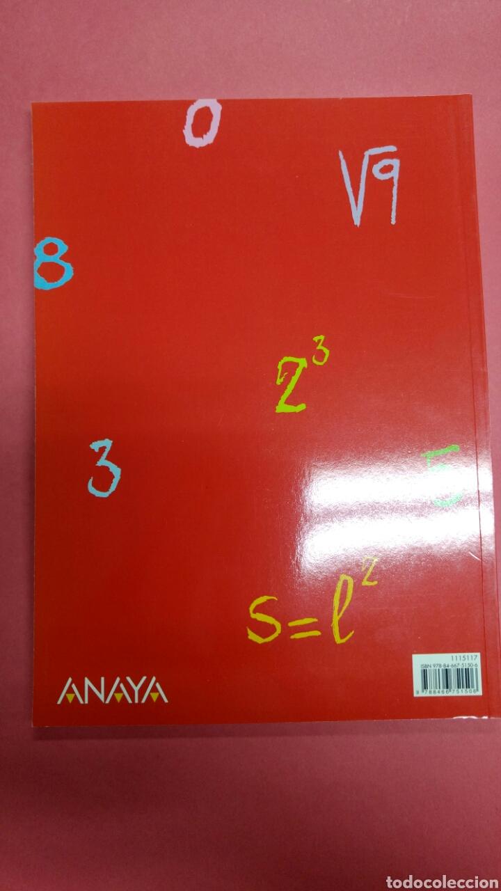 Libros: Refuerzo matemáticas 1 eso ANAYA. NUEVO A ESTRENAR - Foto 2 - 116679760