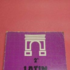 Libros: LIBRO LATÍN 2° BUP ANAYA. 1978. Lote 116681503