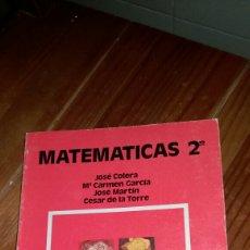 Libros: MATEMÁTICAS DE FP2 AÑO 1987 ANAYA LIBRERIA ANTIGUA A ESTRENAR. Lote 117427084