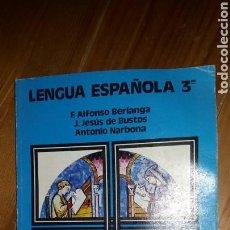 Libros: LIBRO LENGUA ESPAÑOLA 3 FP2 ANAYA AÑO 1982. Lote 117428094