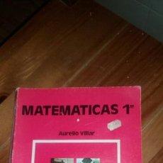 Libros: LIBRO MATEMÁTICAS DE 1 FP AÑO 1988 ANAYA DE LIBRERIA ANTIGUA A ESYRENAR. Lote 117430288
