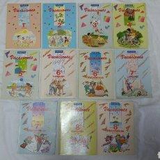 Libros: COLECCIÓN COMPLETA 11 LIBROS PERFECTOS DE VACACIONES EGB ANAYA 1987 NUEVOS A ESTRENAR.. Lote 119866372