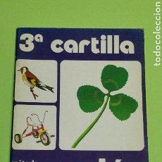 Libros: PERFECTA!!! CARTILLA 3 PALAU ANAYA 1983 NUEVO A ESTRENAR. Lote 120664504