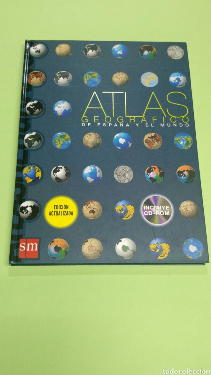 ATLAS GEOGRÁFICO DE ESPAÑA Y EL MUNDO SM NUEVO A ESTRENAR 2008 (Libros Nuevos - Libros de Texto - ESO)